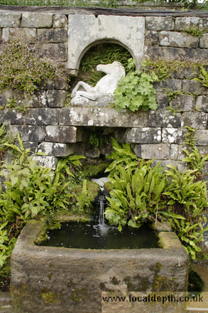 UK - Water feature at Wallington Hall