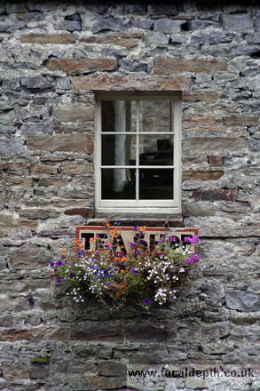 UK - Tea rooms at Aysgarth Falls, Wensleydale