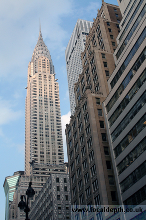 USA - Chrysler Building, Manhattan New York