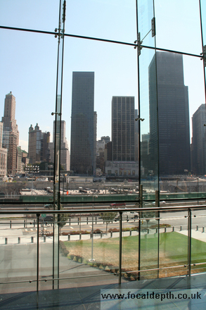 USA - View from the Winter Garden of Ground Zero, New York