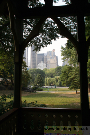 USA - View from The Dairy in Central Park New York