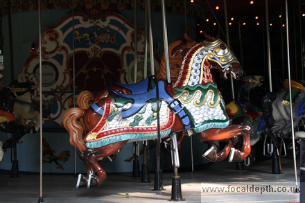 USA - The Carousel, Central Park, New York