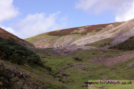 UK - Near Beldi Hill, old lead mines, footpath between Muker-Keld, North Yorkshire