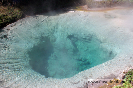 Yellowstone - Bluebell Pool, West Thumb Geyser Basin, Yellowstone National Park, Wyoming