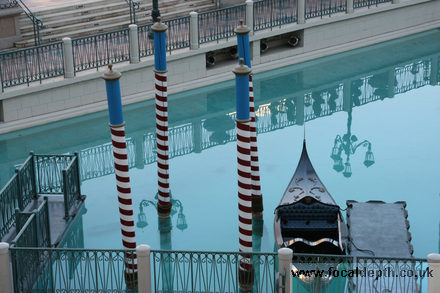 USA - Gondola at the Venetian Resort Hotel, Las Vegas