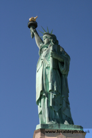 USA - Statue of Liberty Staten Island New York
