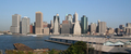 USA - View of Downtown Manhattan and New York Skyline