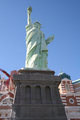 USA - Half scale representation of the Statue of Liberty at New York- New York, Las Vegas, Nevada