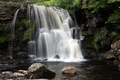 UK - Upper Catrake Force in Swaldale North Yorkshire