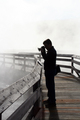 Yellowstone - Photographer in Yellowstone National Park