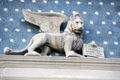 USA - Winged lion with long tail, a symbol of Saint Mark, The Venetian Resort Hotel, Las Vegas